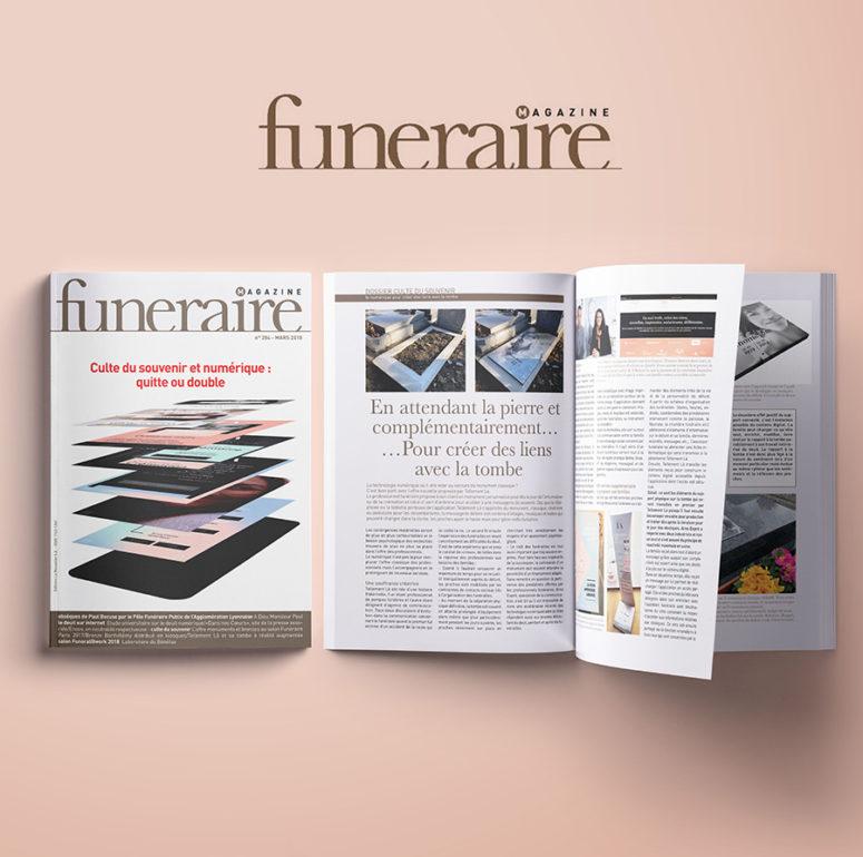 Magazine Funéraire parution presse