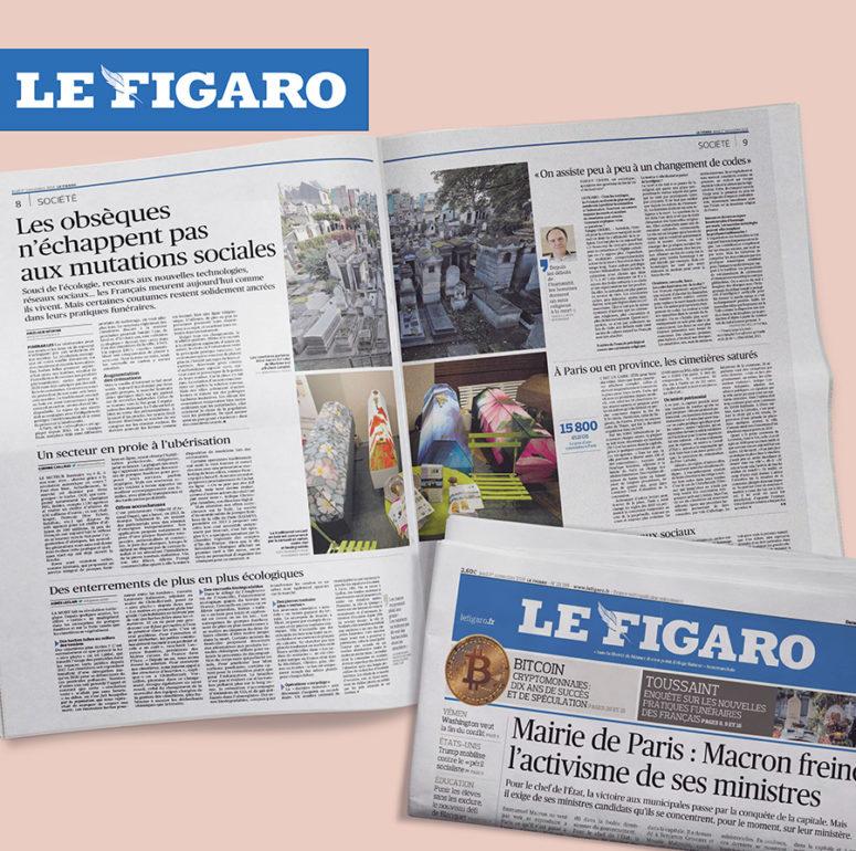 Le Figaro parution presse