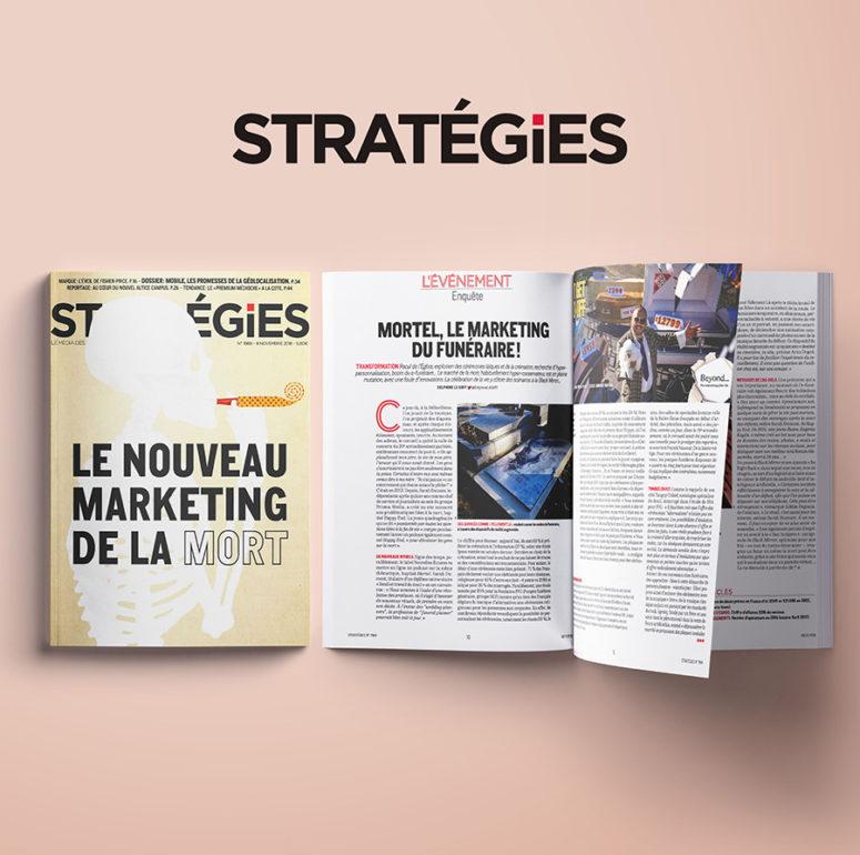 Stratégies parution presse